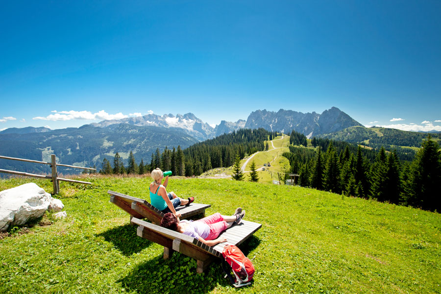 The dachstein is one of the most visited destinations in styria