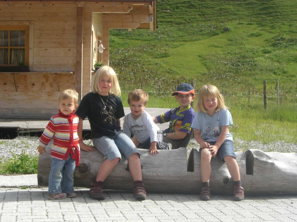 Kinderlachen auf der Rottenhofhütte