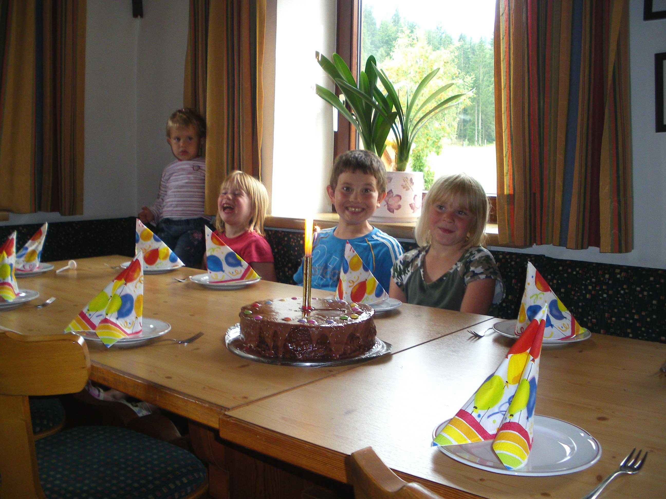 Aurelias Geburtstagsfeier