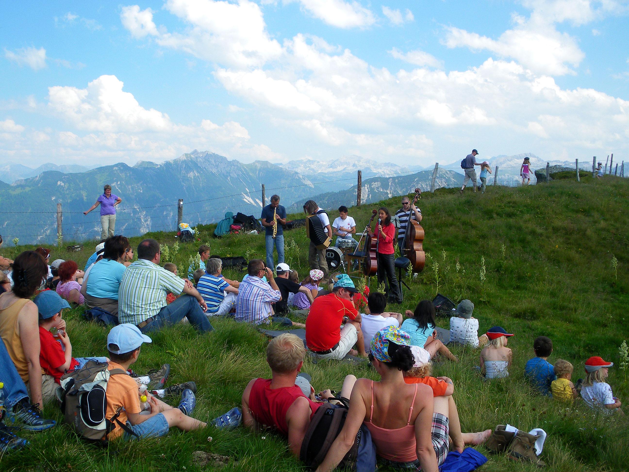 Konzert am Berg