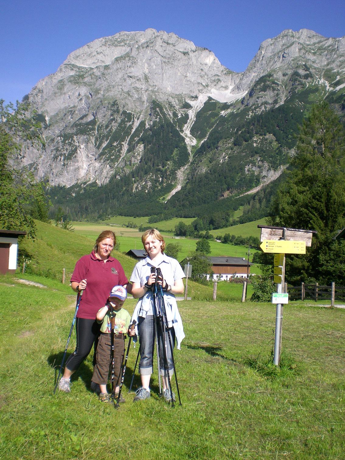 Nordic Walking Wanderung