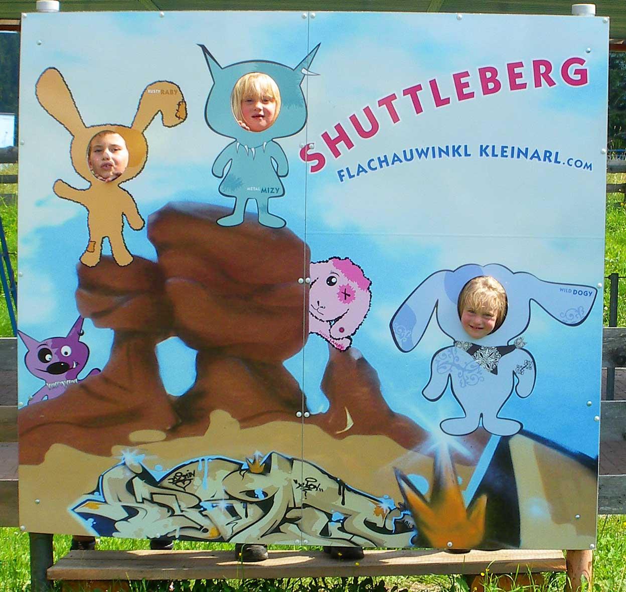 Shuttleberg in Kleinarl