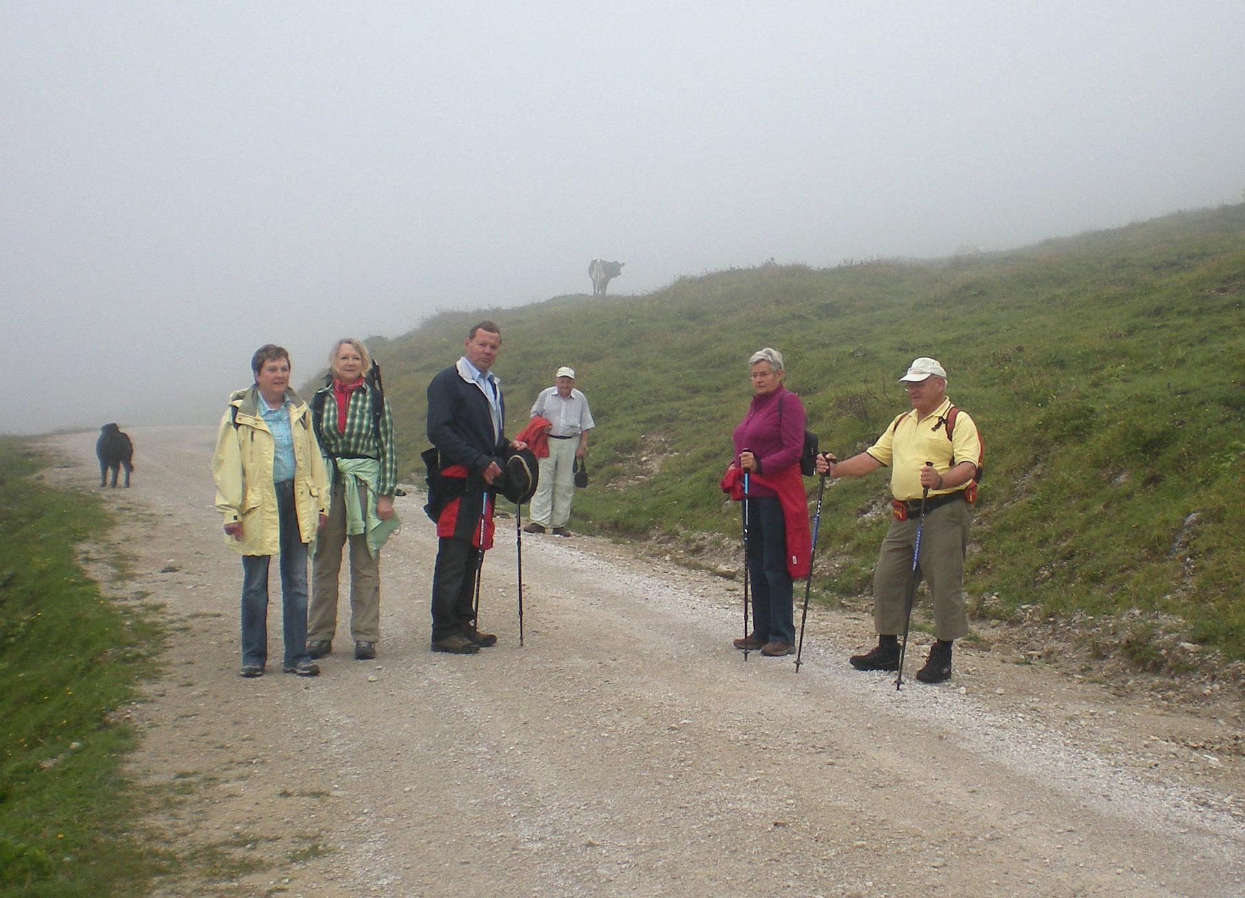 Aufstieg zur Rottenhofhütte
