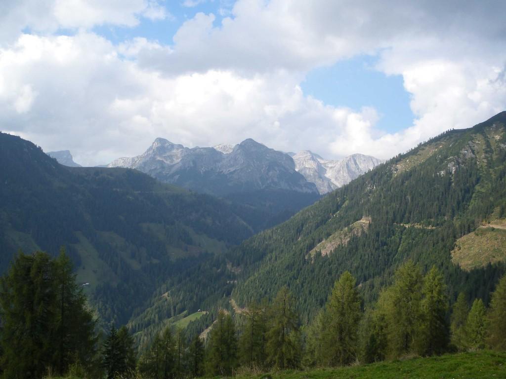 Aussicht auf das Tennengebirge