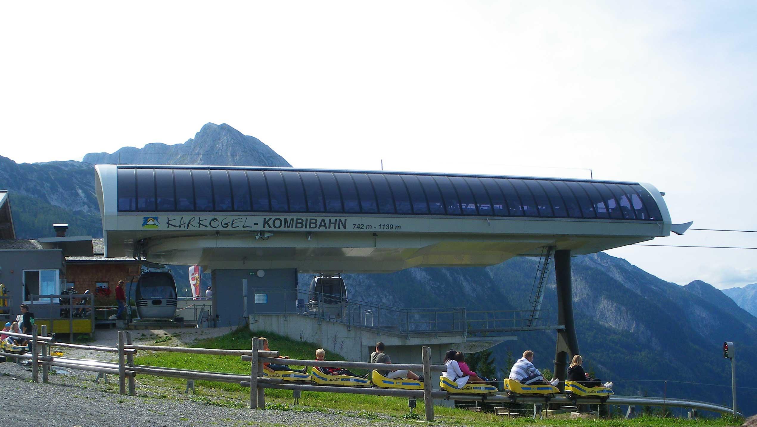 Bergstation Karkogel Kombibahn