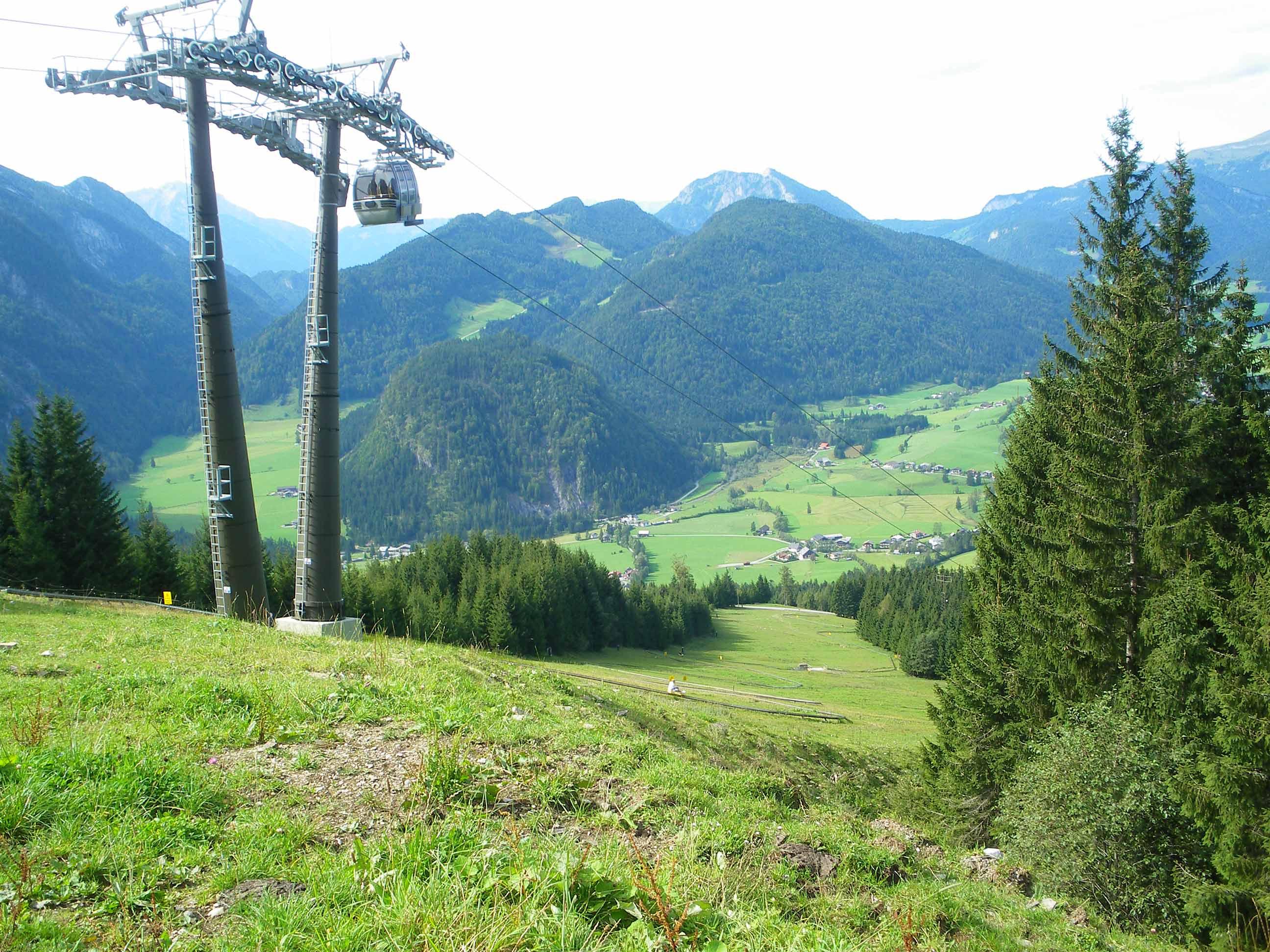 Bergstation Karkogelbahn Abtenau