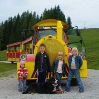Unterwegs mit dem Bummelzug an der Hornbahn