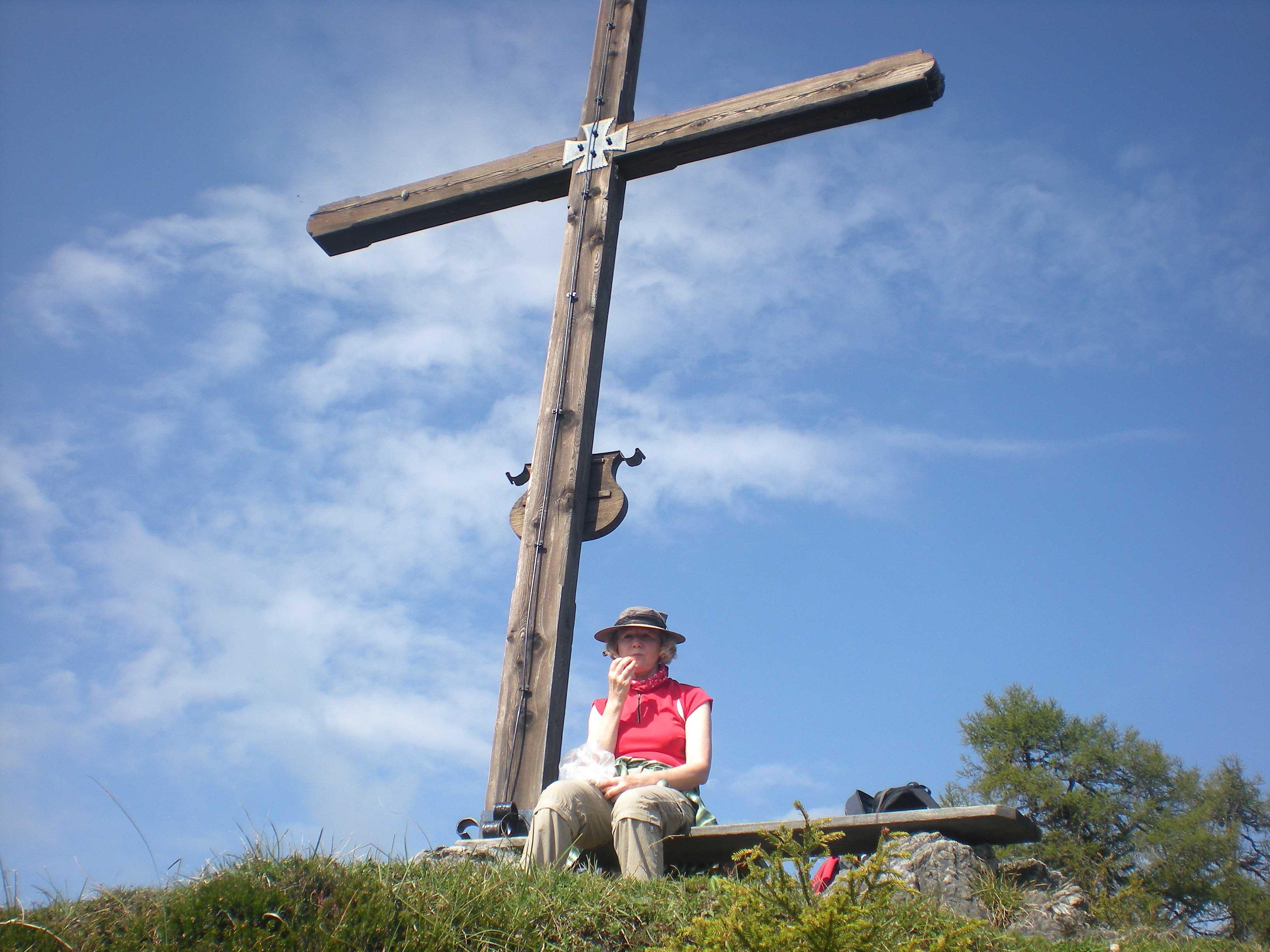 Gipfelkreuz am Ostermaisspitz