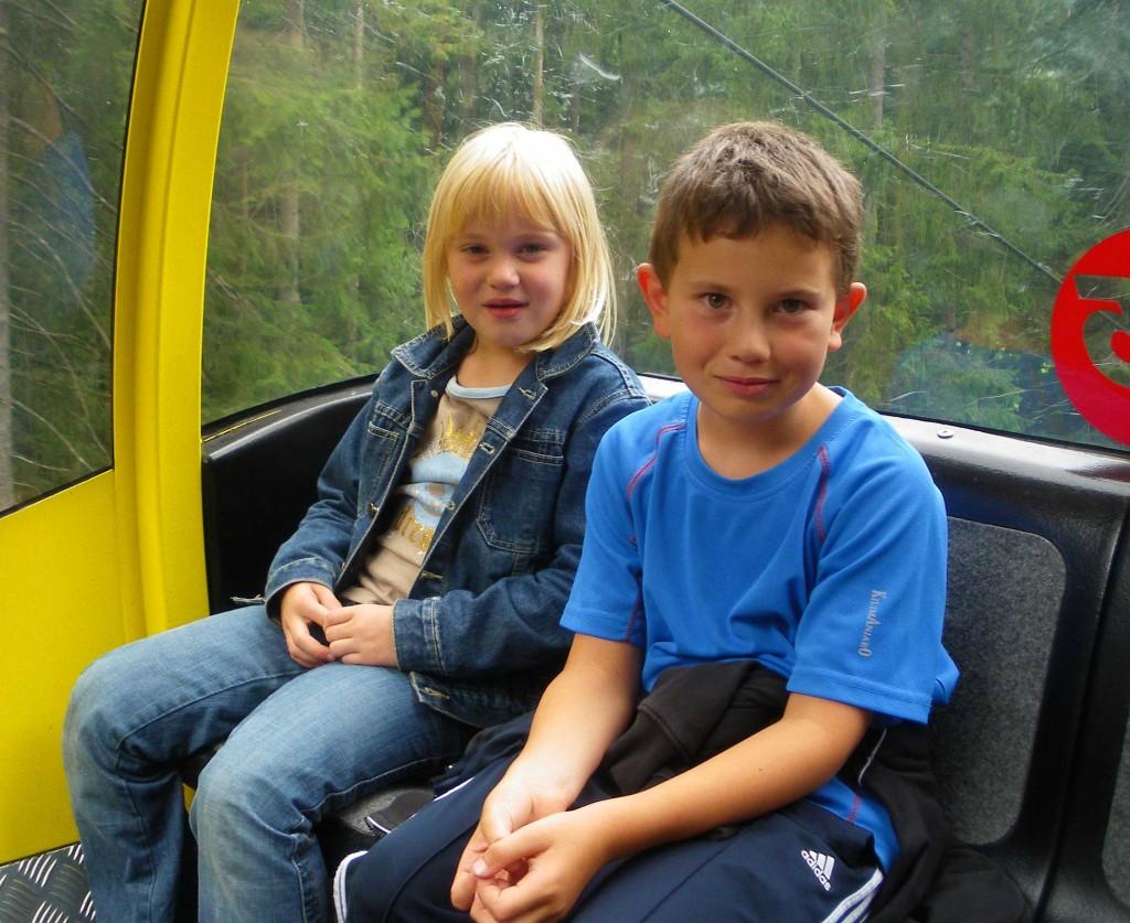 in der Hornbahn Russbach