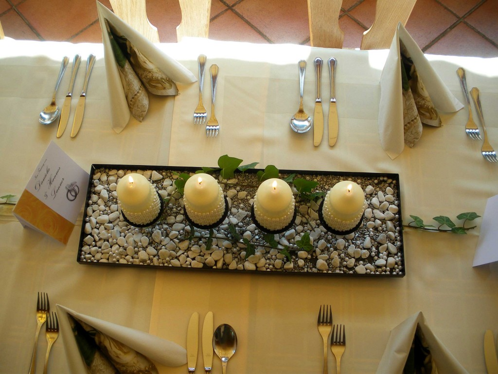 Kerzen Tischdeko Hochzeit