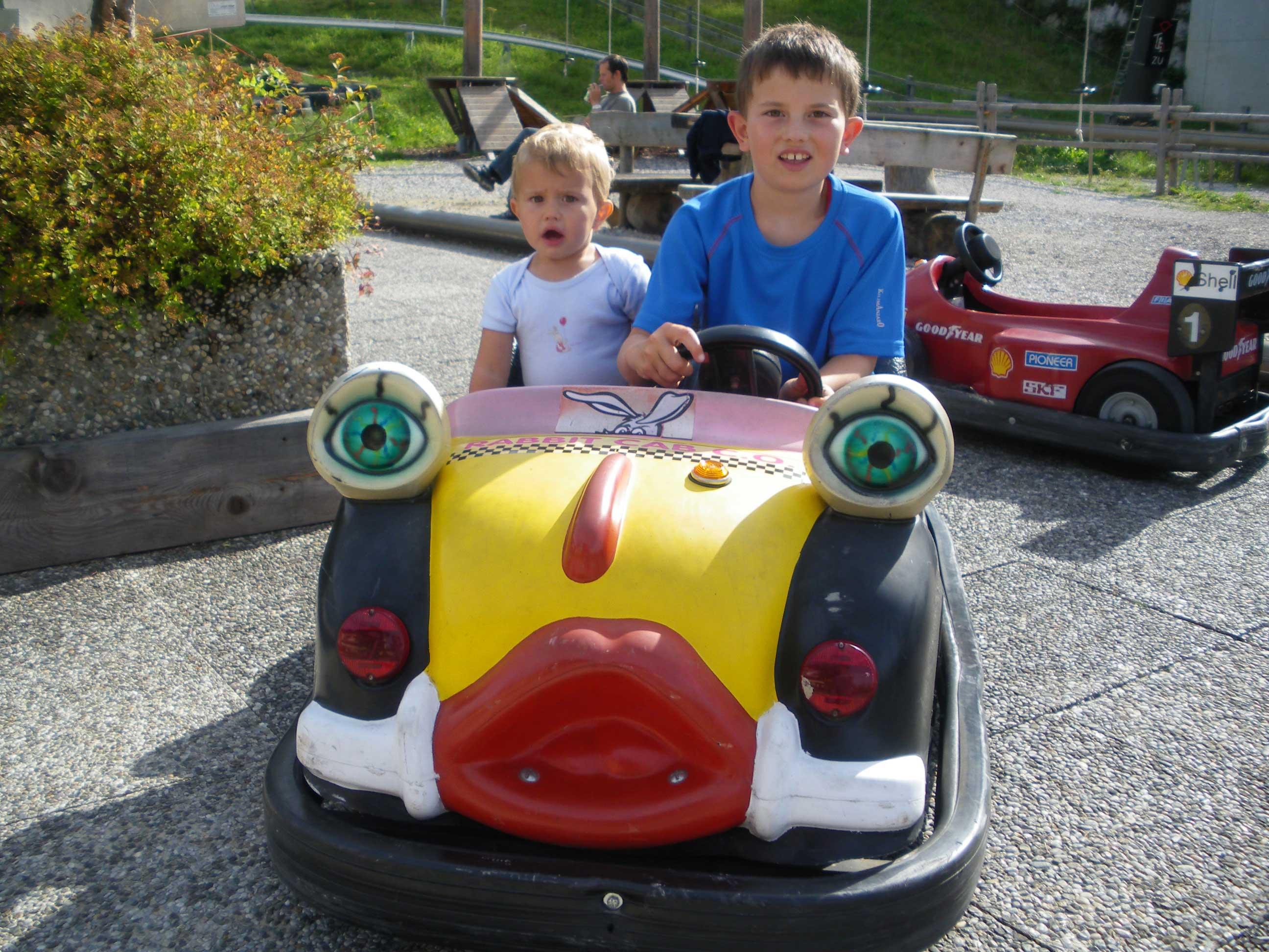 Kinderpark Autos