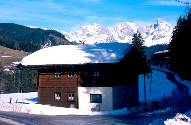 Ferienhaus Schnee