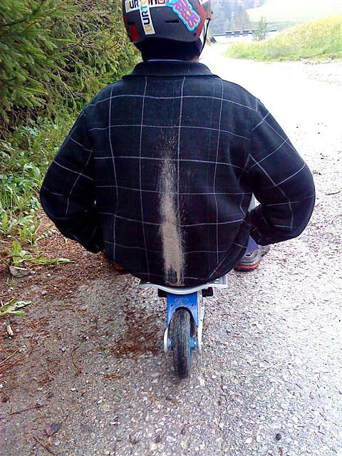 nicht die neueste Jacke nehmen ....