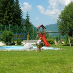 Kinderspielplatz-Schwimmbad