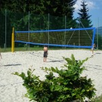 Volleyballplatz-Waldbad