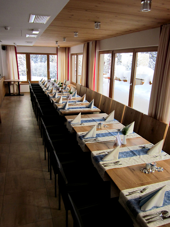 Tauffeier im Berghotel Lämmerhof