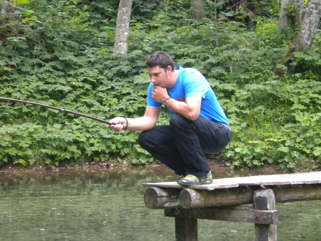 Aufmerksamkeit - das A und O beim Fischen.