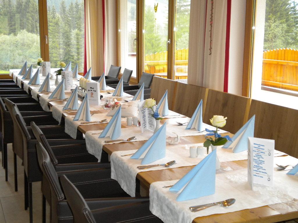 Feste Feiern im Alpengasthof Lämmerhof