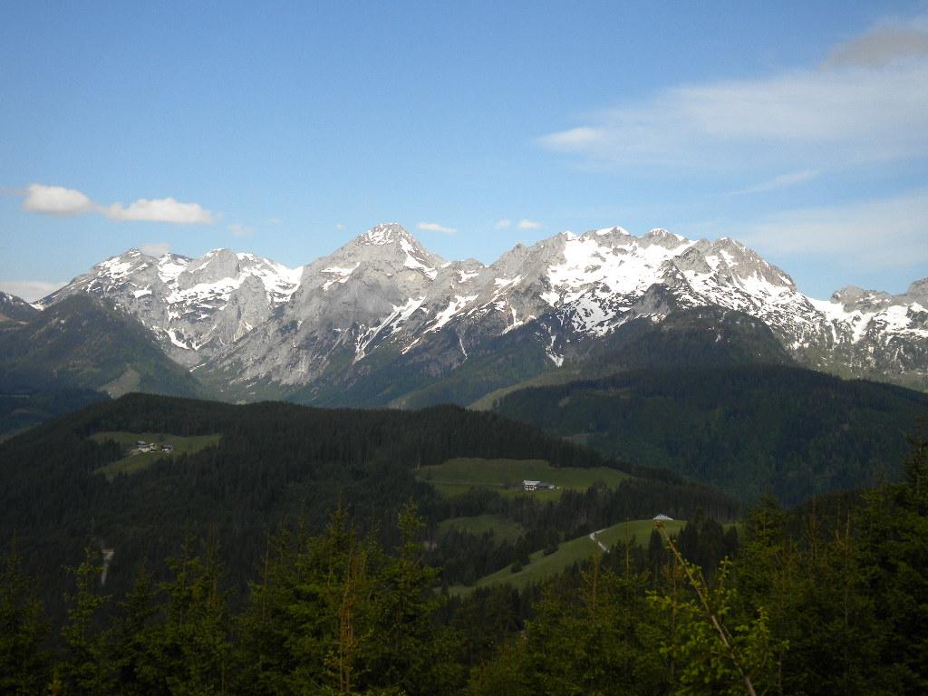 Traumhafte Postkartenkulisse bei der Wanderung im Salzburger Land