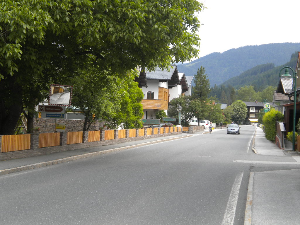 Straße im Salzburger Land
