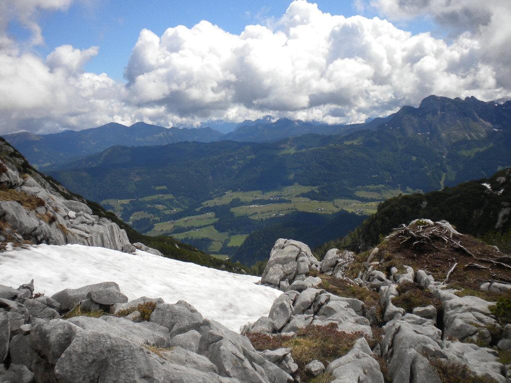 Wieder eine traumhafte Aussicht auf die Salzburger Bergwelt