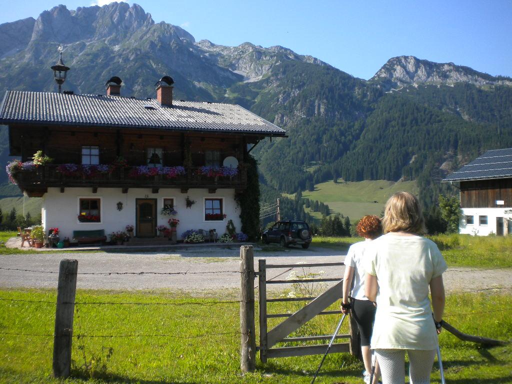 Nach 1.5 Stunden wieder fast im Hotel Lämmerhof angekommen