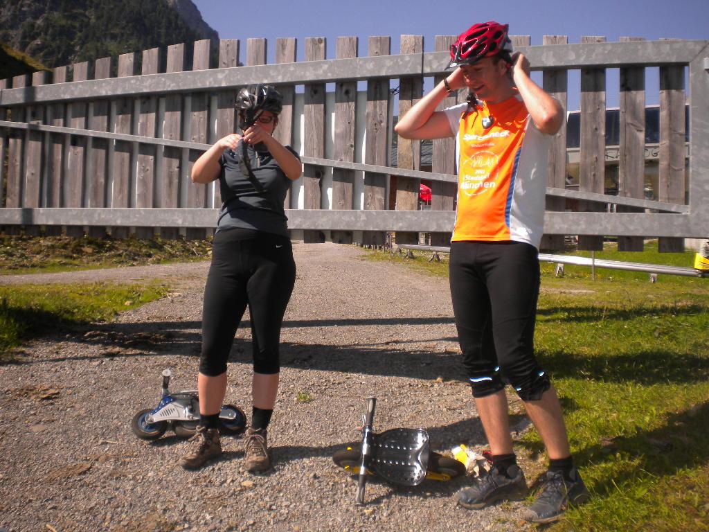 Lämmerhof Wochenprogramm am Donnerstag mit Bockerlahren am Karkogel in Abtenau auf der Rodelstrecke
