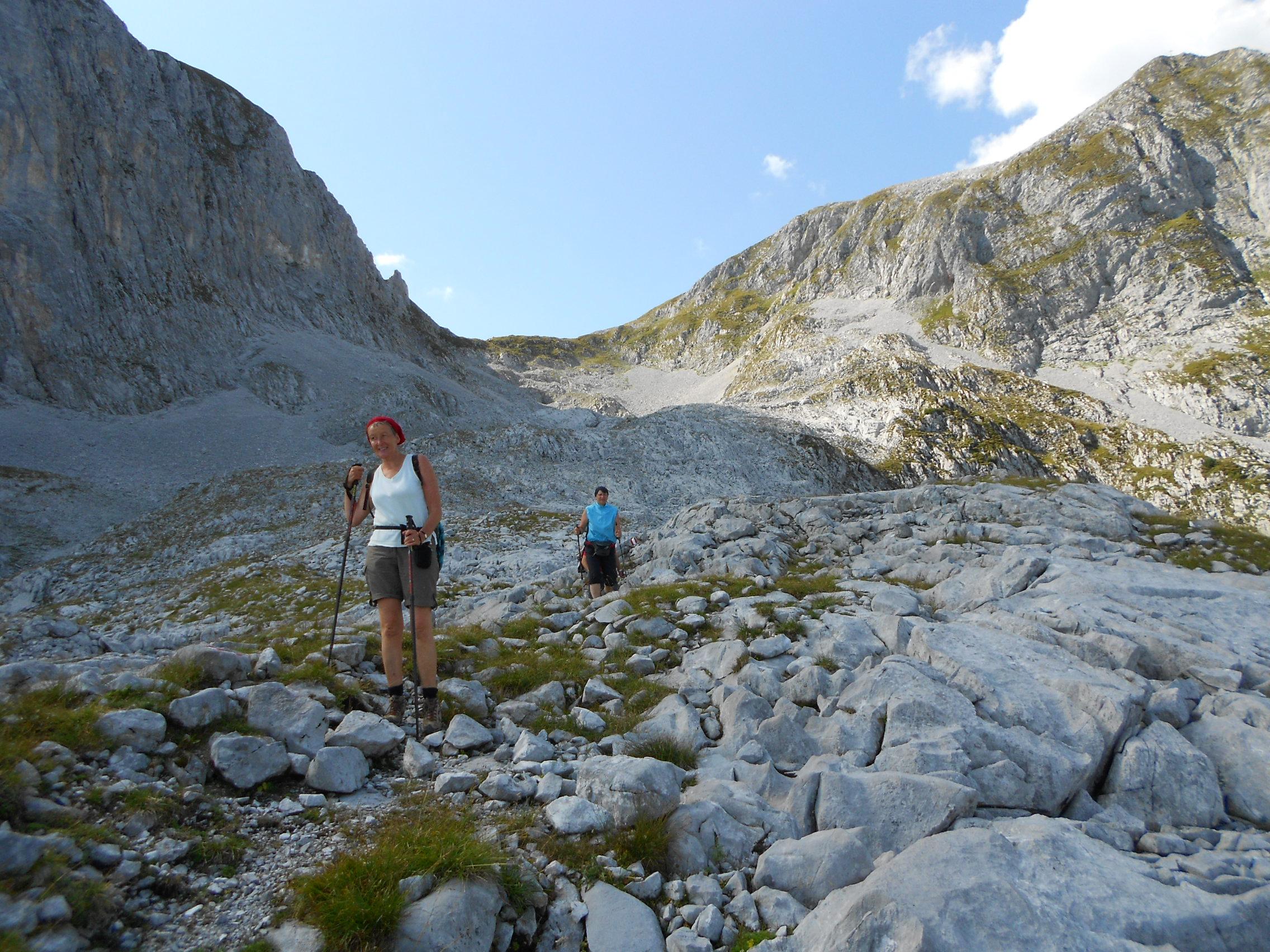 Hochgebirgswanderungim Zuge der Wanderwochen im Herbst vom Berghotel Lämmerhof auf den Edelweisskogel und den Hochkarfelderkopf