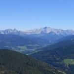 Traumhafter Ausblick in die Salzburger Bergewelt