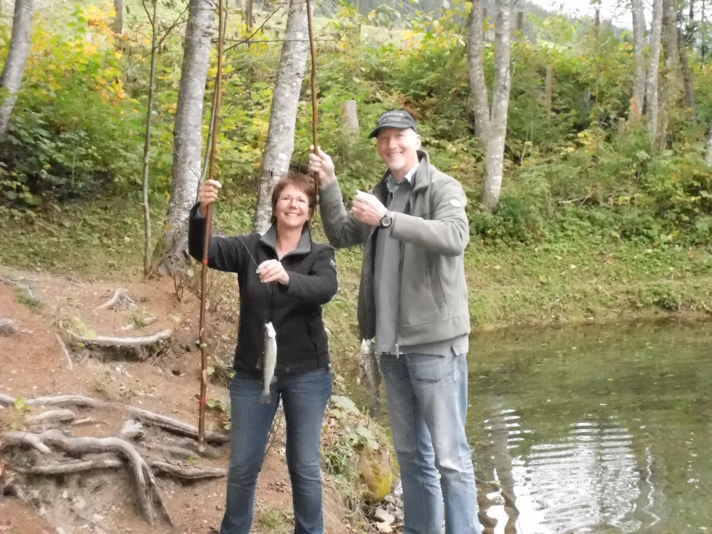 Fischen im Herbst