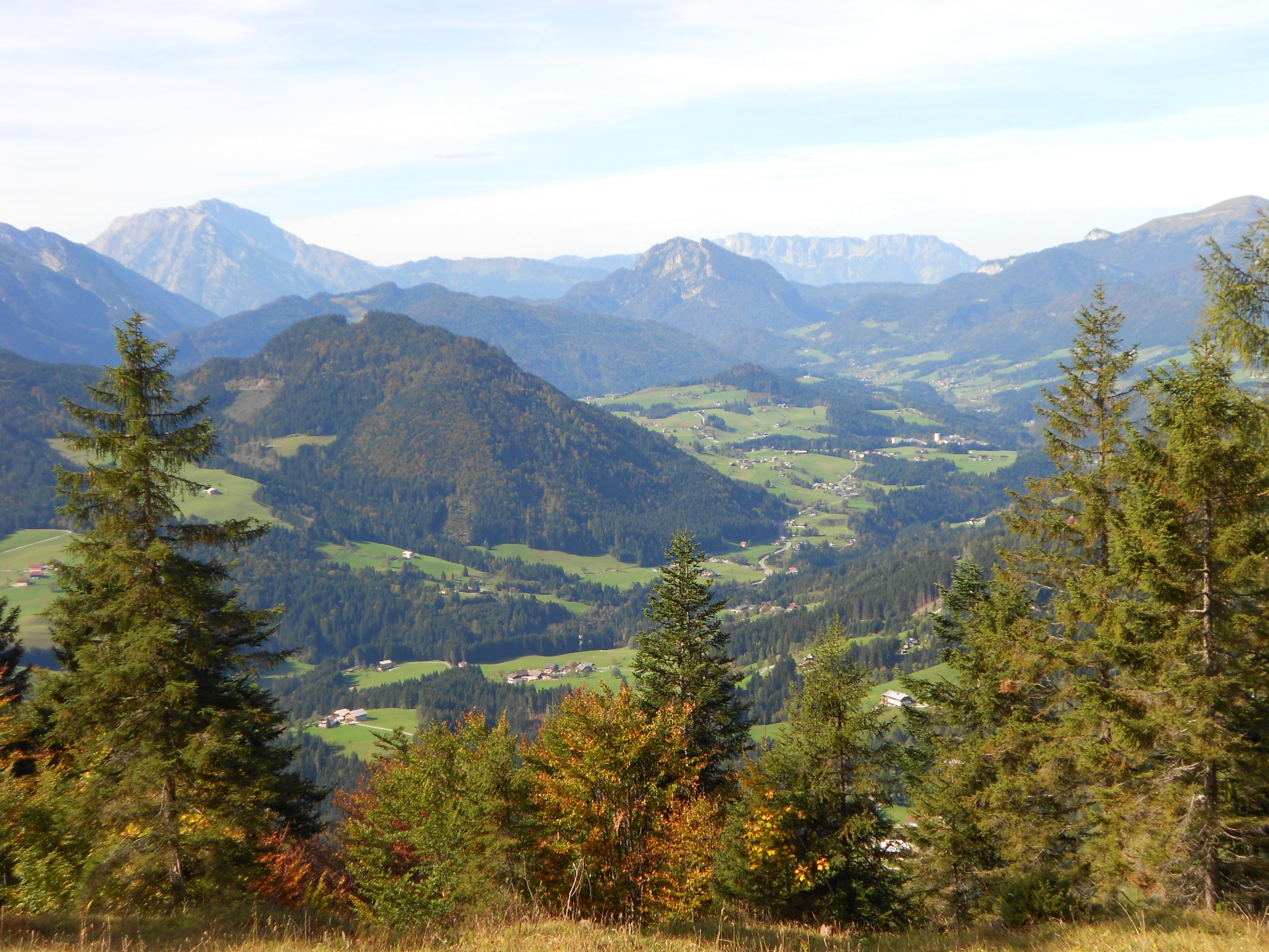 Herbstlandschaft im Tennengebirge