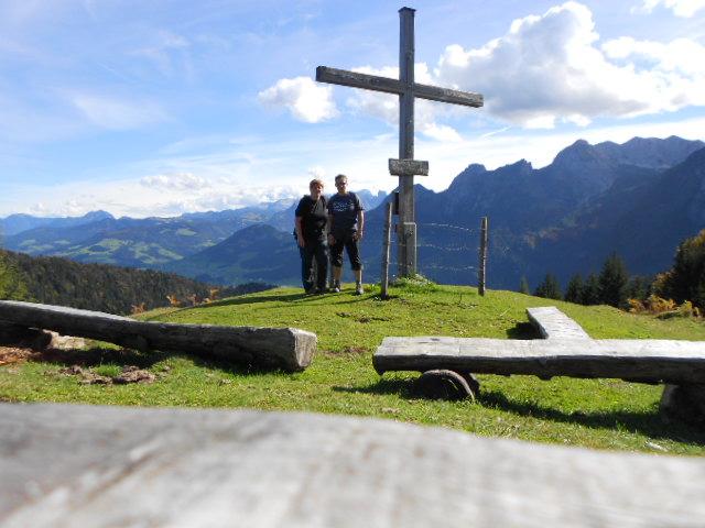 Gipfelwanderung des Lämmerhof-Teams