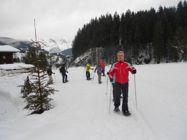 Auf Auf zum Schneeschuhwandern im Lammertal