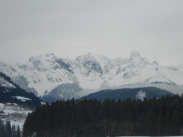 Das Gebirge rund um den Lämmerhof