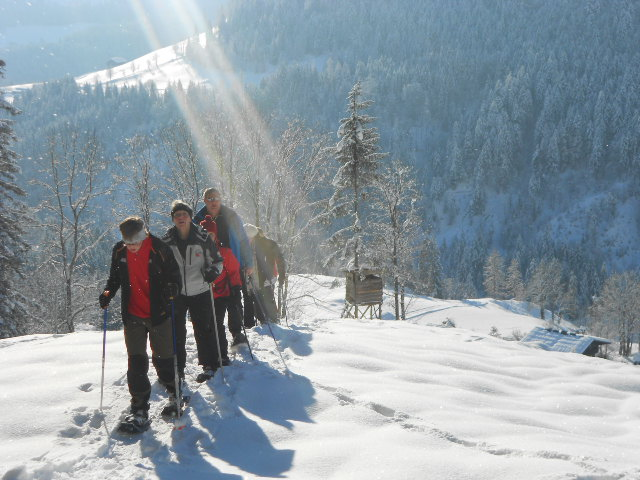 Winterwanderungen in der Wildau