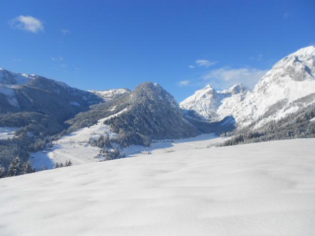 Schnee, Schnee und nochmals Schnee im Salzburger Land