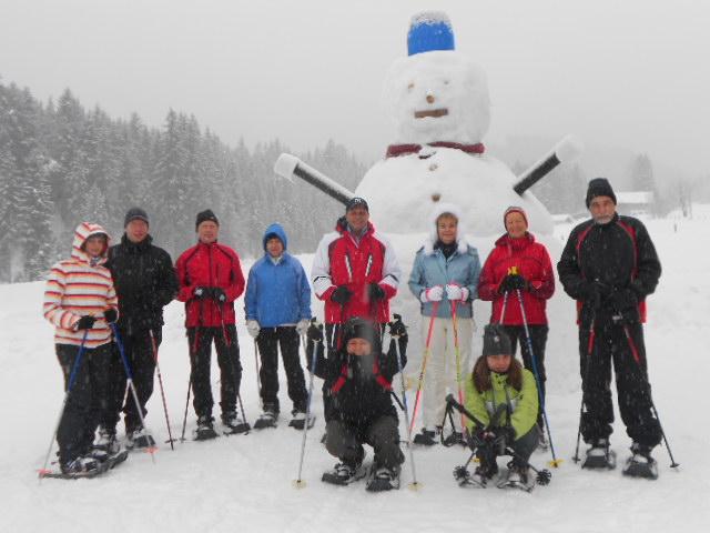 Startfoto vor Snowmen MAXI