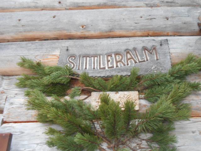Die Sittleralm im Salzburger Land
