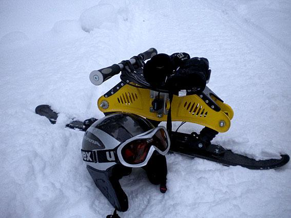 Ausrüstung Bockerlfahren Winter