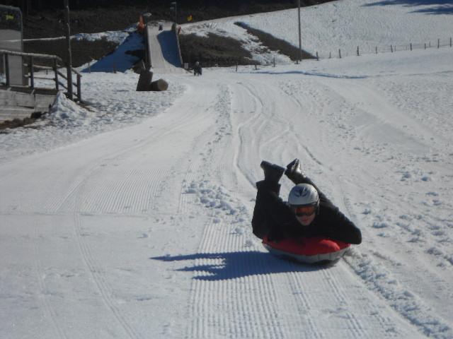 Winterbockerl im Schnee des Salzburger Landes