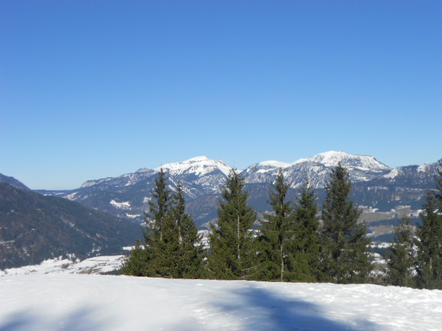 Schnee und Winterlandschaften im Lammertal