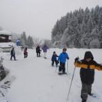 Schneeschuhwandern für Groß & Klein