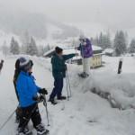 Schneeschuhwandern mit Gästen
