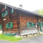 Hütte in den Salzburger Bergen