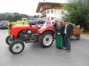 Heu Art Fest Heufigur vom Lämmerhof
