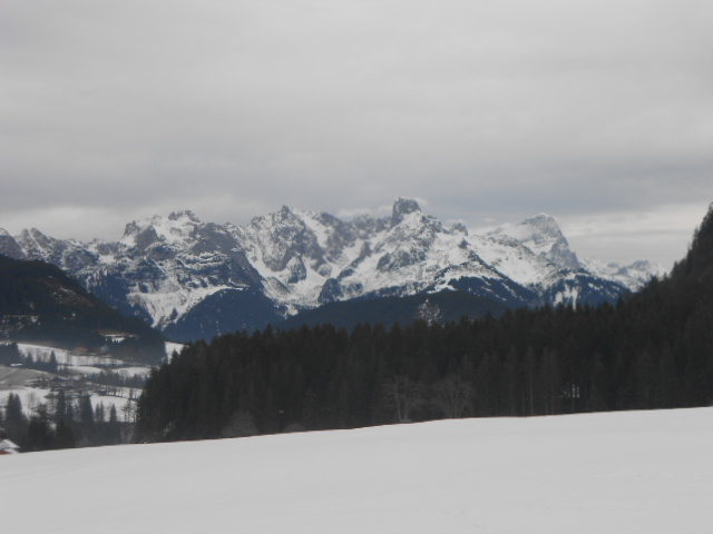 Schneelandschaft im Lammertal