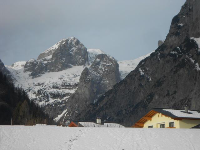 Aussicht ins Tennengebirge
