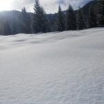 Tiefer Winter im Lammertal