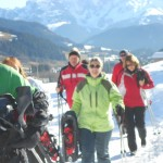 Zusammen Schneeschuhwandern - Alpengasthof Lämmerhof