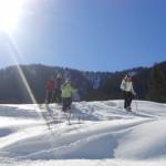 Sonnige Winterwanderung im Tennengau